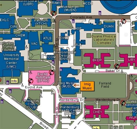 Cu Denver Campus Map Building D