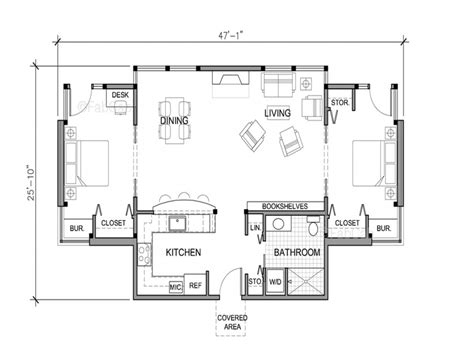 cottage house plans one small one house floor plans really small one