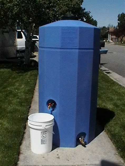 55 Gallon Water Storage Containers