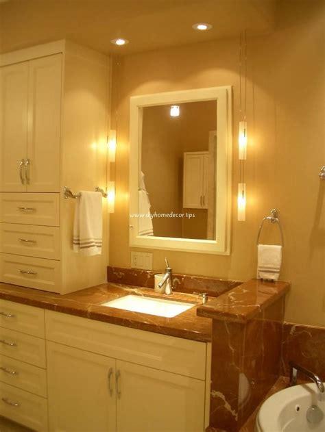 bathroom mirrors and lighting ideas bathroom lighting ideas diy home decor