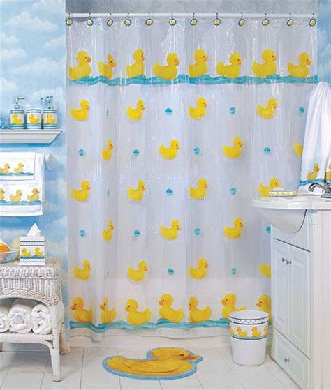 rubber duck shower curtain 19 best images about bathroom duck theme on