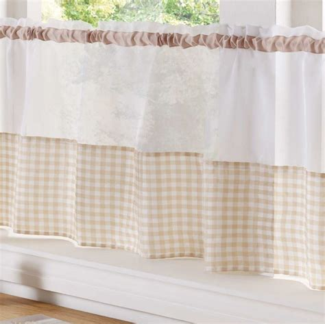 country style kitchen curtains country style kitchen gingham curtain pair window drapes 6208