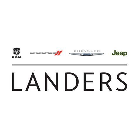 Landers Dodge Chrysler Jeep Ram by Teeter Motor Company Home