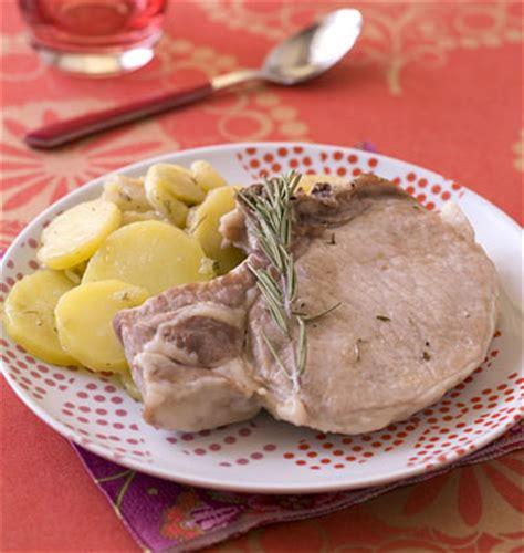 recette cuisine lyonnaise côtes de porc à la lyonnaise les meilleures recettes de
