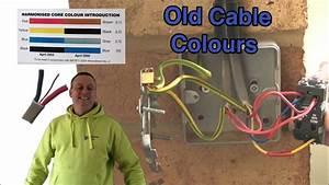 Old Cable Colours Pre 2004 In 2 Way Switching And A Feed