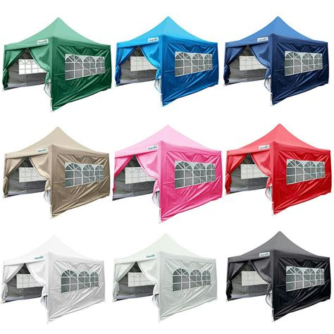 quictent silvox xez pyramid roofed pop  canopy gazebo party tent  color ebay