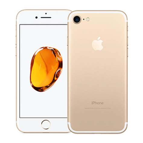 iphone refurbished unlocked apple iphone 7 gold refurbished phone unlocked for at t