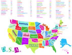 Us Map with States and Capitals Printable