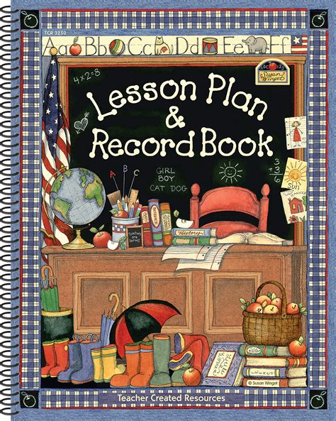 lesson plan record book  susan winget tcr