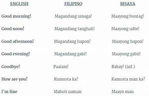 30 useful Filipino and Bisaya phrases when traveling | I ...