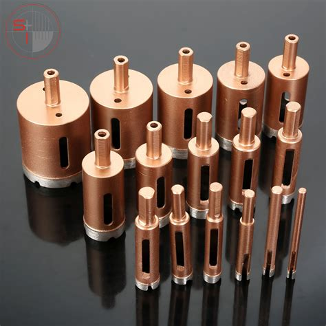 Diamond Core Drill Bit Metal Hole Saw Holes Drilling | Stone Tech Inc