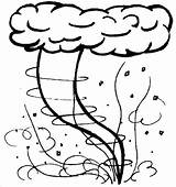 Tornado Coloring Pages Kidprintables Main Return Wind Tornadoes Sheets Template Craft Summertime Printable Toddler Crafts Summer Anonomus Tornados E4 Weather sketch template