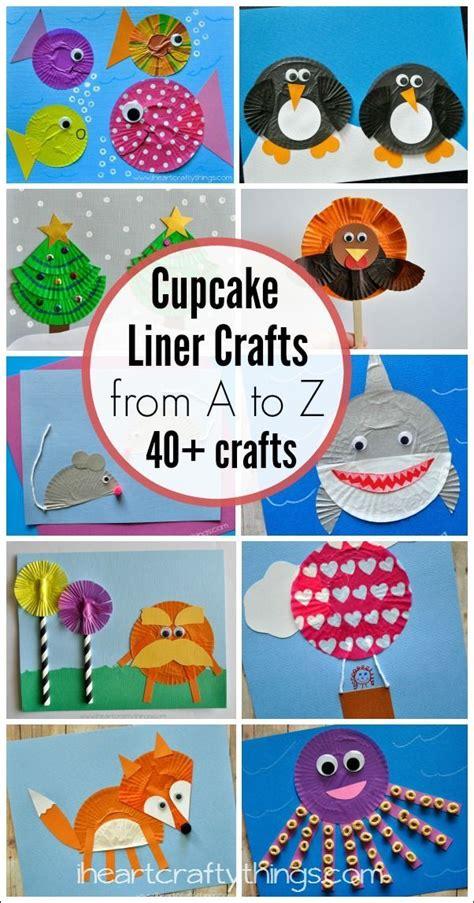 25 best ideas about cupcake crafts on cupcake 237 | 7e7c725fde08bce82c51ce1706ec686c preschool cupcake liner crafts preschool letter k crafts