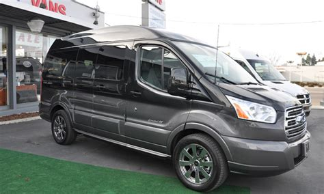 ford transit conversion van full size custom van