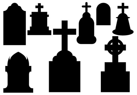 tombstone clipart black  white clipground