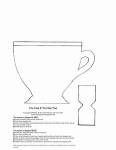 information about tea bag tag template