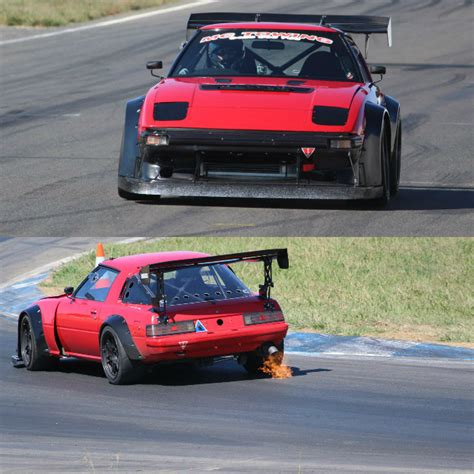 Mazda Rx7 Fb Race Car From Australia With Ceika Type 1m