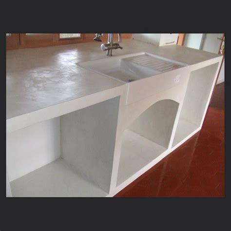 beton ciré pour cuisine beton pour plan de travail cuisine plan de travail en