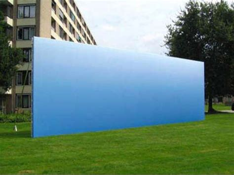 Helmut Smits Creates A Clear Blue Sky Billboard