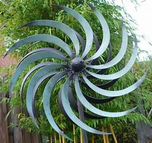 Windräder Für Den Garten : windspiel windrad garten figur metall wind rad sonne gartenlust 175cm gartendekorationen shop ~ Indierocktalk.com Haus und Dekorationen