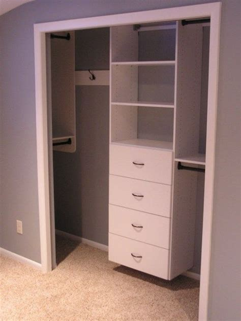 Bedroom Cabinet Design For Small Spaces by Small Closet S Tips And Tricks Home Closet Closet