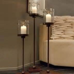 iron floor candle holders foter With kitchen cabinets lowes with large iron candle holders
