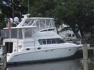1999 Silverton 442 Cockpit Motor Yacht Loaded Power Boat For Sale