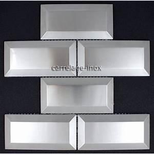 Credence Sur Carrelage : carrelage metro inox mosaique cr dence cuisine metro ~ Premium-room.com Idées de Décoration