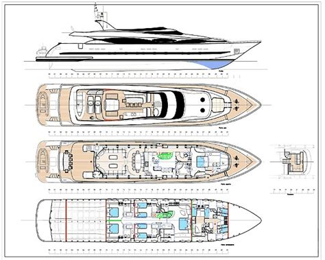Yacht Plans by Layout Plans Image Gallery Luxury Yacht Browser By