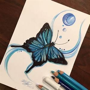 20+ Butterfly Drawings, Art Ideas   Design Trends ...