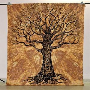 Tree of life tapestry indian wall hanging hippie