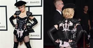 Grammys 2015: Madonna flashes thong in matador outfit - NY ...