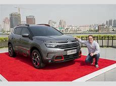 Citroën C5 Aircross 2018 suivez la révélation du SUV