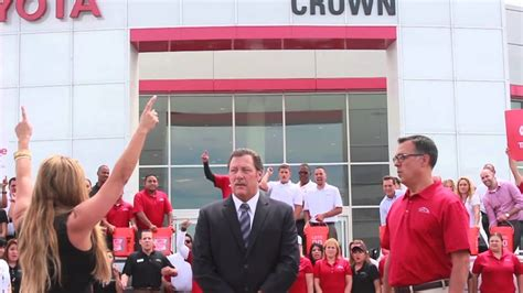 john elways crown toyota als ice bucket challenge youtube