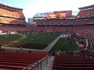 Redskins Seating Chart View Firstenergy Stadium Section 124 Row Wc Seat 1