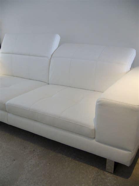appui tete canapé canapé design minimaliste avec appuis tête bjbent 2 5 places