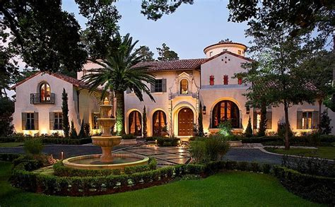 $895 Million Mediterranean Mansion In Houston, Tx Homes