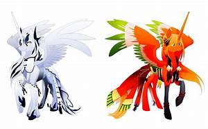 Alicorn Ho-oh lugia by Dormin-Kanna on DeviantArt