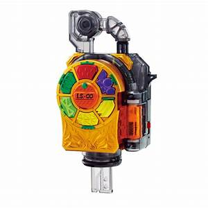Kamen Rider Gaim DX Kiwami Lock Seed Official Images ...