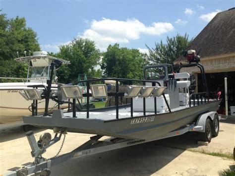 Fishing Boat Jobs Texas by 21 Ft Boatright Custom Rigged Flounder Flats Fishingboat