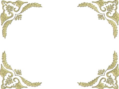 corner frames corner frames corner frame png psp picture downloads page border design free floral and corner