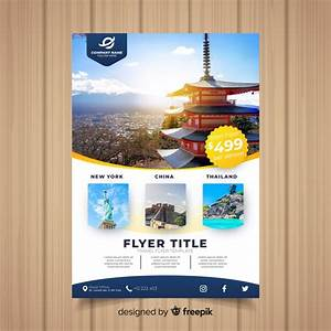 Tourism Flyer Template Travel Flyer Template Vector Free Download