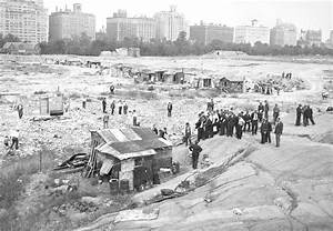 Central Park Hooverville, 1932 - The Daily News turns 95 ...