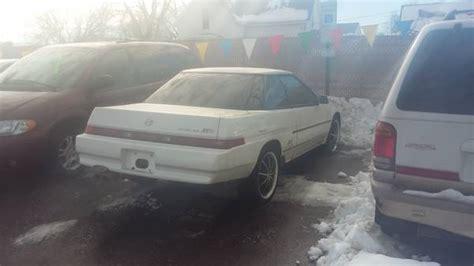 subaru xt xt coupe  door  classic subaru xt
