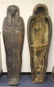 Ancient Egyptian Mummy Sarcophagus