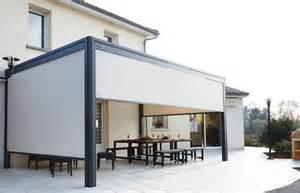 Rideaux Pour Pergola Bioclimatique by 17 Meilleures Id 233 Es 224 Propos De Pergola Aluminium Sur