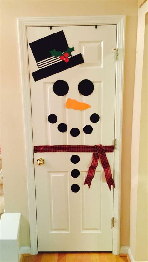 snowman door decorations best 25 snowman door ideas on diy