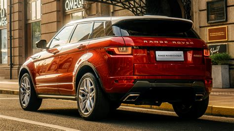 Land Rover Range Rover Evoque Backgrounds by Range Rover Evoque Hse Dynamic 2016 Cn Wallpapers And Hd