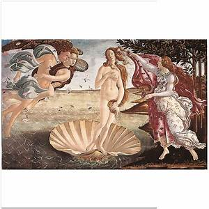 Botticelli: Birth Of Venus Masterpiece Tile With Hanging ...