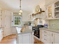 French Kitchen Design by French Provincial U Shaped Kitchen Design Using Floorboards Kitchen Photo 5